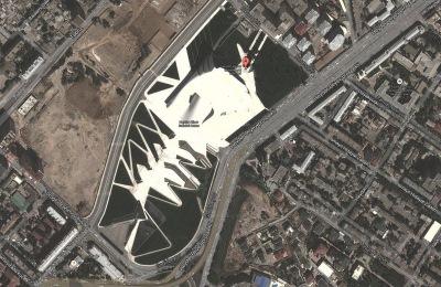 「ヘイダルアリエフセンター 上空」の画像検索結果